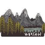 Woosah Woosah North Cascades Print 16x20