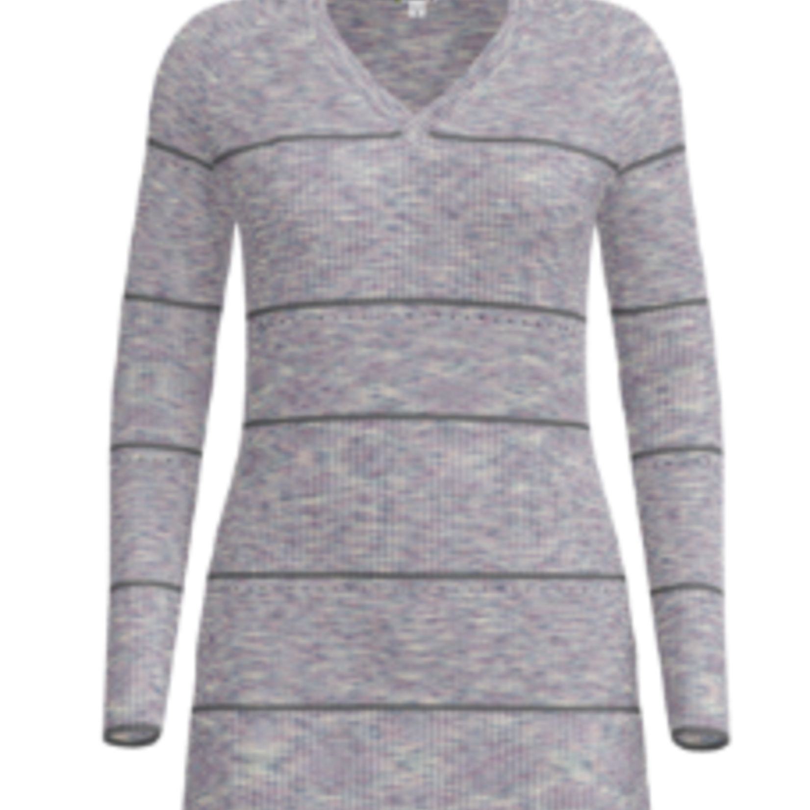 Smartwool Smartwool W's Shadow Pine Pointelle Stripe Tunic Sweater