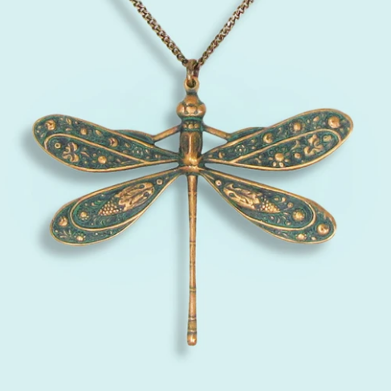 Ornamental Things Dragonfly Necklace