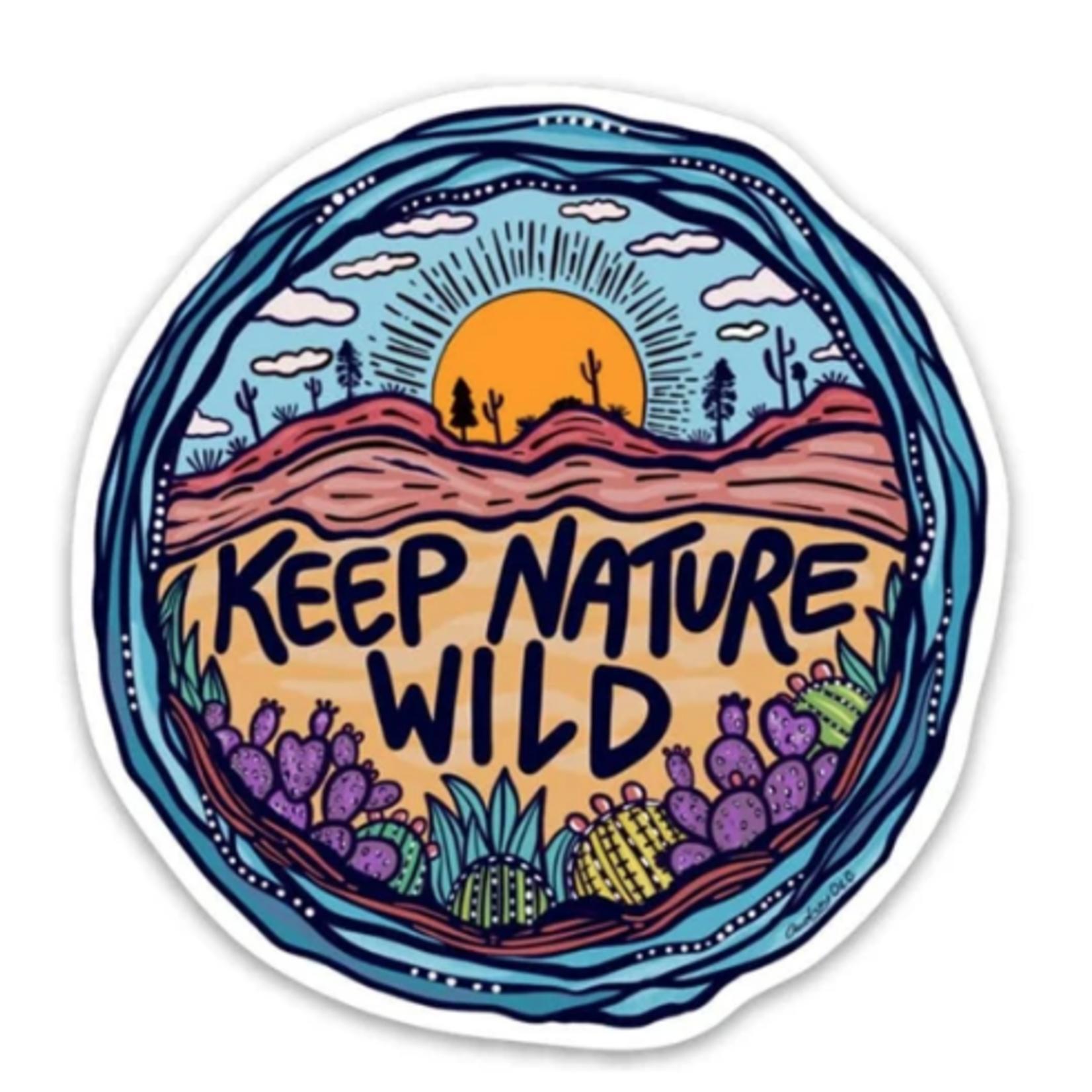 Keep Nature Wild Wild Earth Day 2019 Sticker