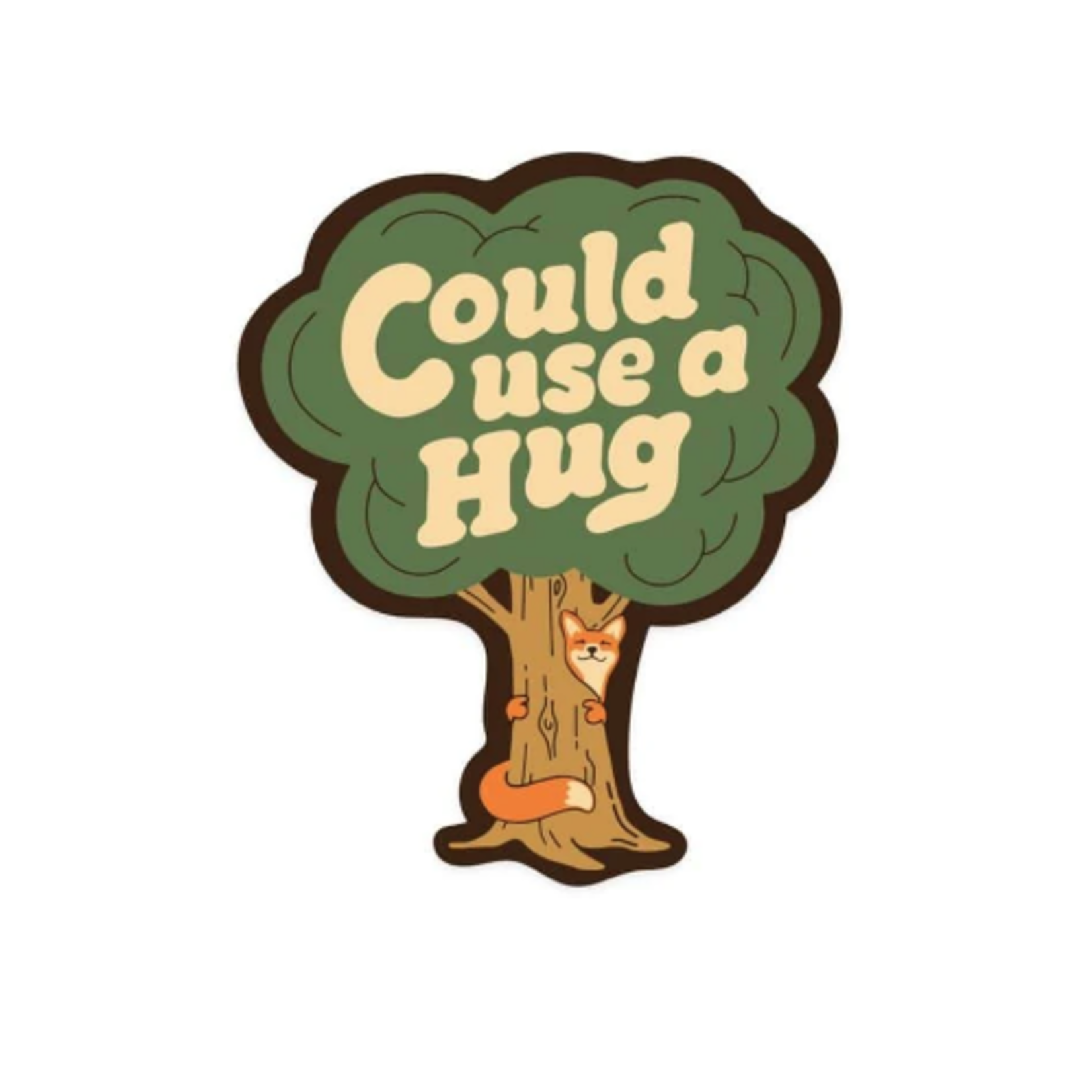 Keep Nature Wild KNW -Could Use a Hug Sticker