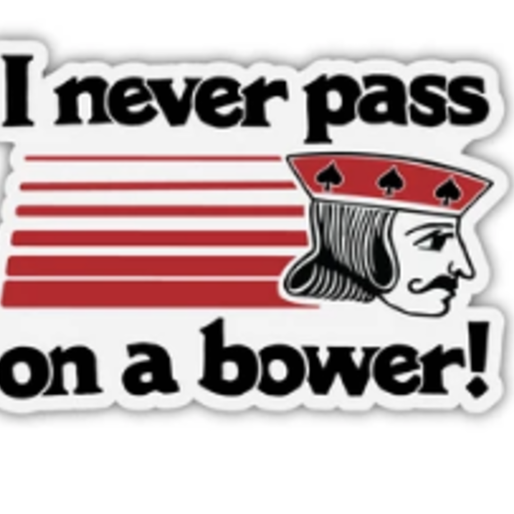 The Mitten State The Mitten State Bower Sticker