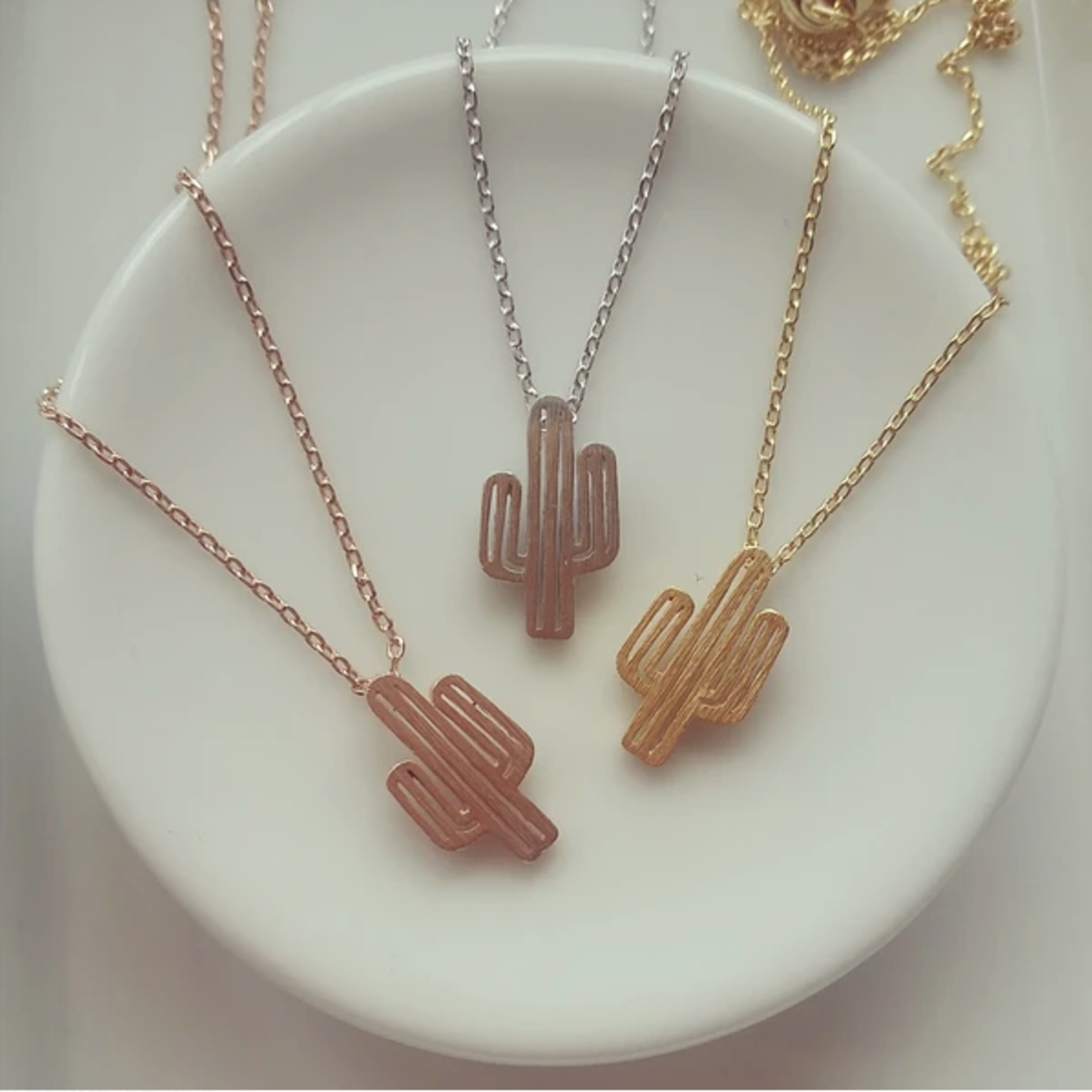 Musthavemustget Must Have Cactus Necklace