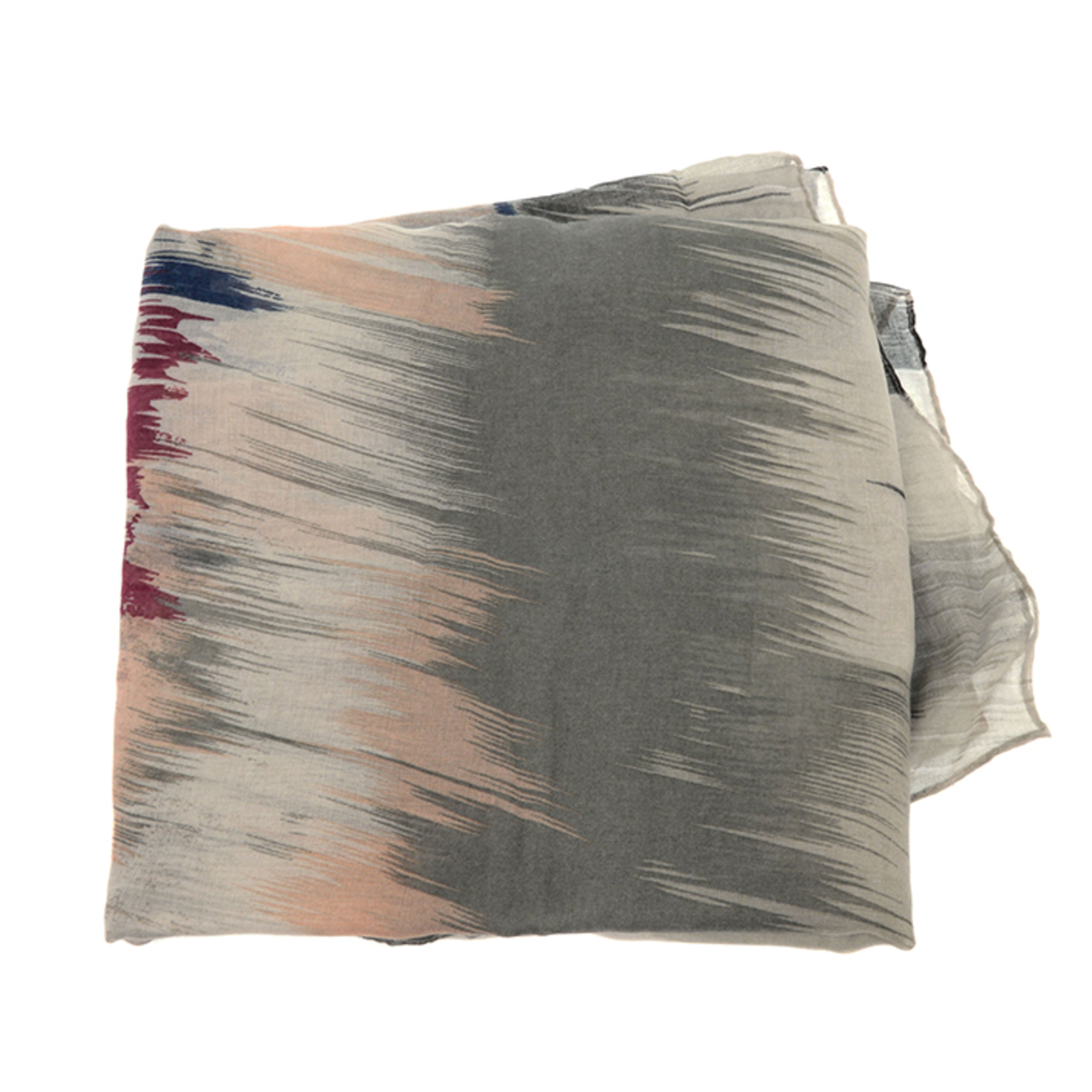 Joy Susan Joy Susan 90x180 Neutral Blurred Ikat Scarf