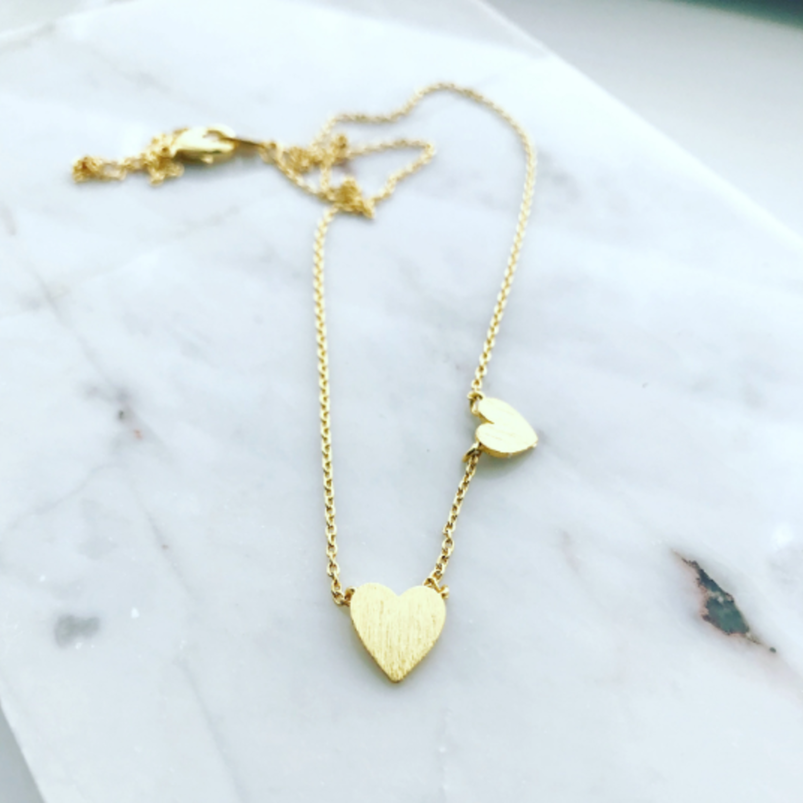 Musthavemustget Must Have Double Heart Necklace