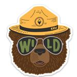Keep Nature Wild Wildbear Sticker