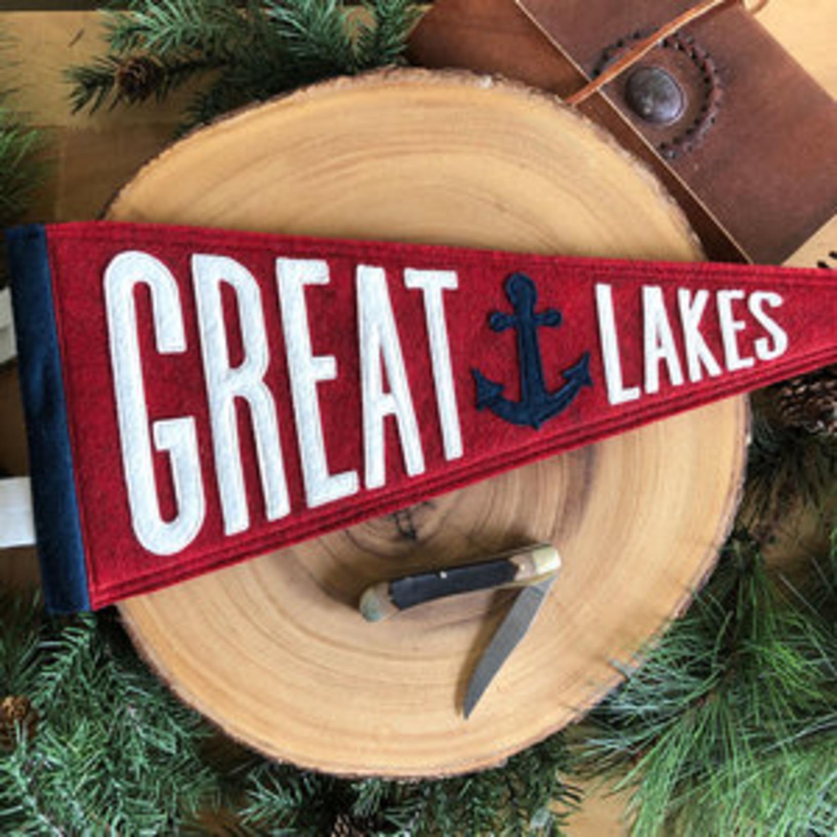 Yoho & Co Yoho & Co Felt Pennant Great Lakes