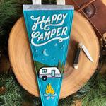 Yoho & Co Yoho & Co Felt Pennant Under the Stars Happy Camper
