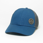 League League Legacy Lo-Pro Hat with Saugatuck Trout, Marine Blue/Dk. Grey