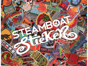 Steamboat Sticker