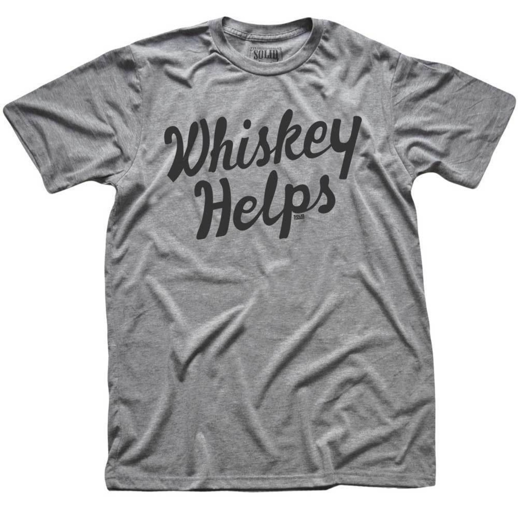 Solid Threads Solid Threads Whiskey Helps T-shirt - P-144350