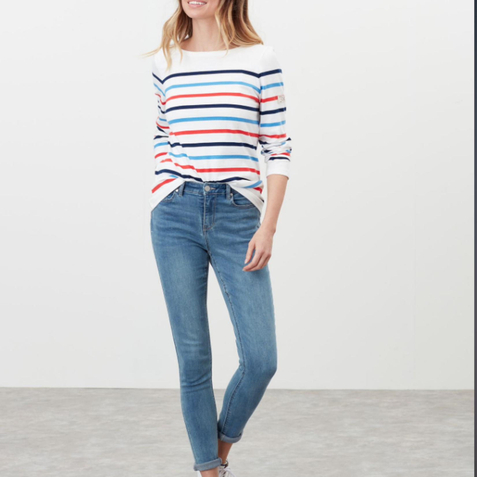 Joules Harbor Long Sleeve Jersey Top