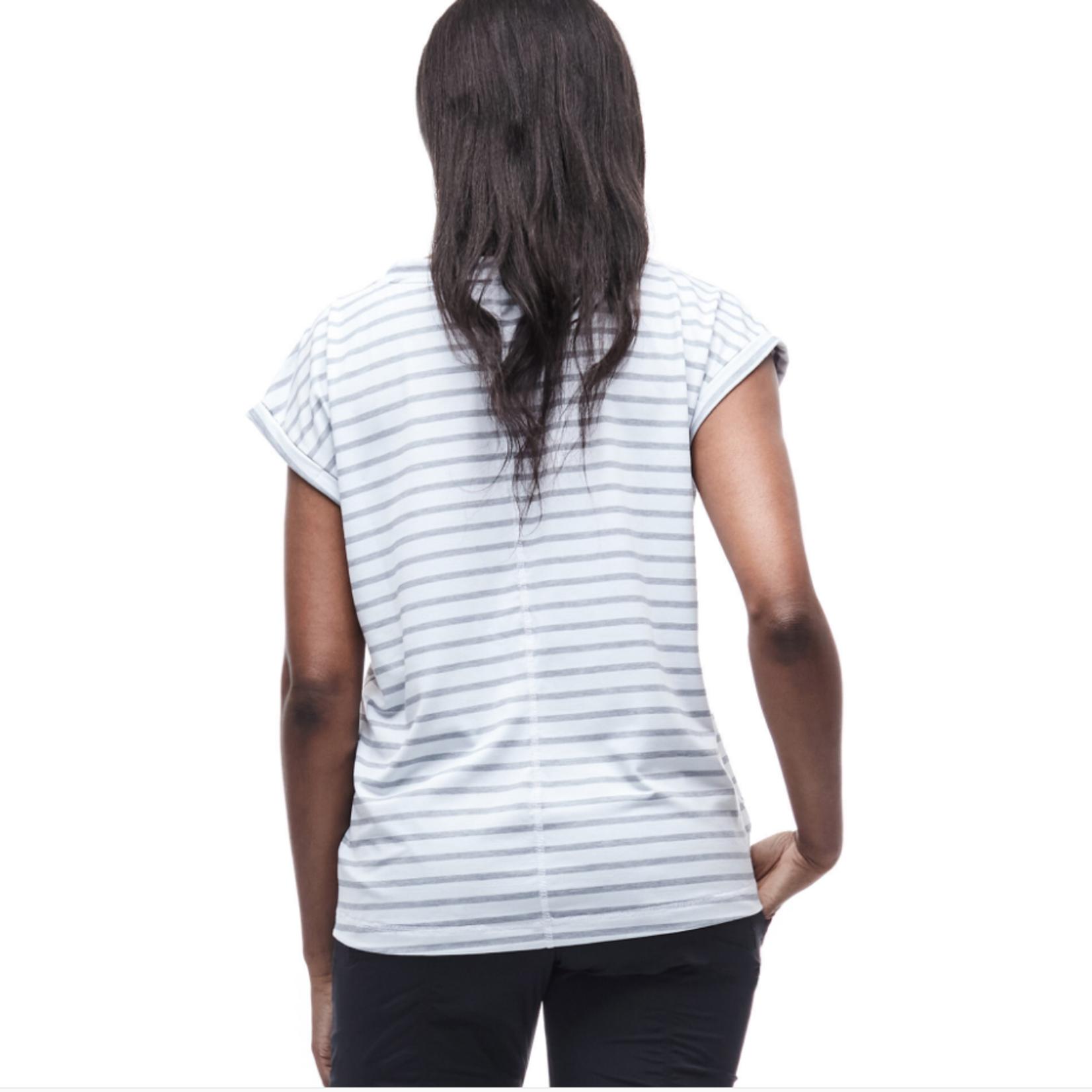 Indygena Indygena Sofi White Grey Stripe Medium