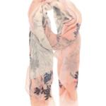 Joy Susan Joy Susan 180x75cm Pink Spring Ahead Scarf