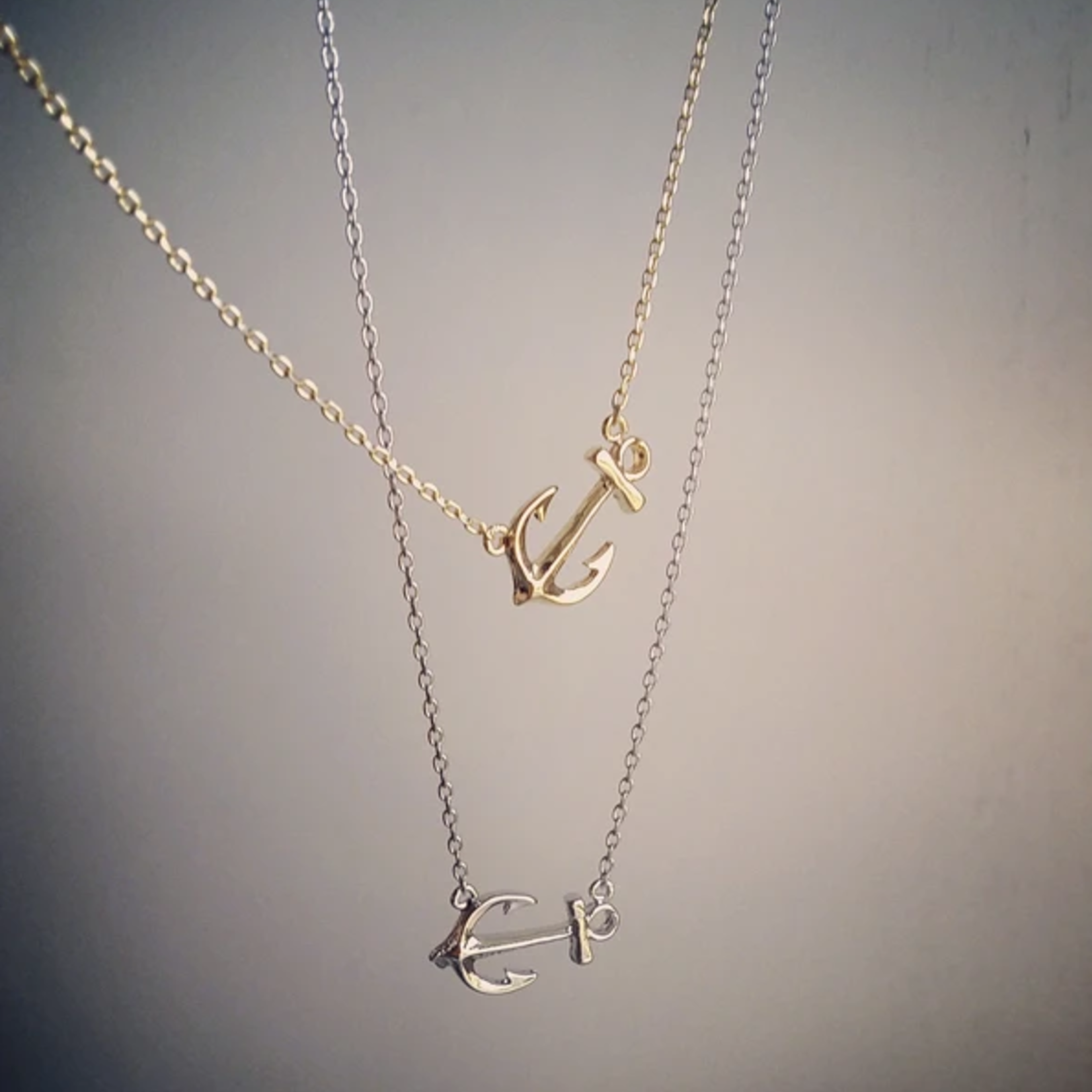 Musthavemustget Must Have Anchor Necklace