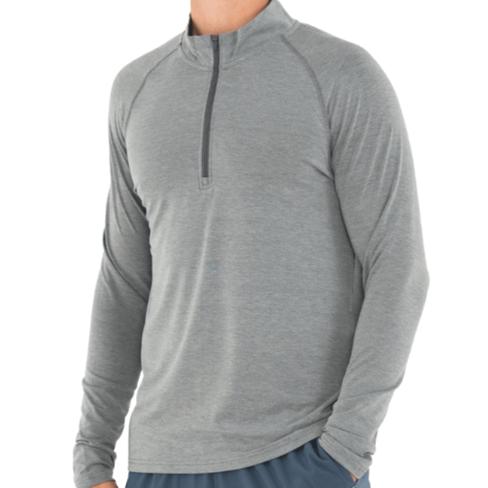 Free Fly Free Fly M's Bamboo Flex Quarter Zip