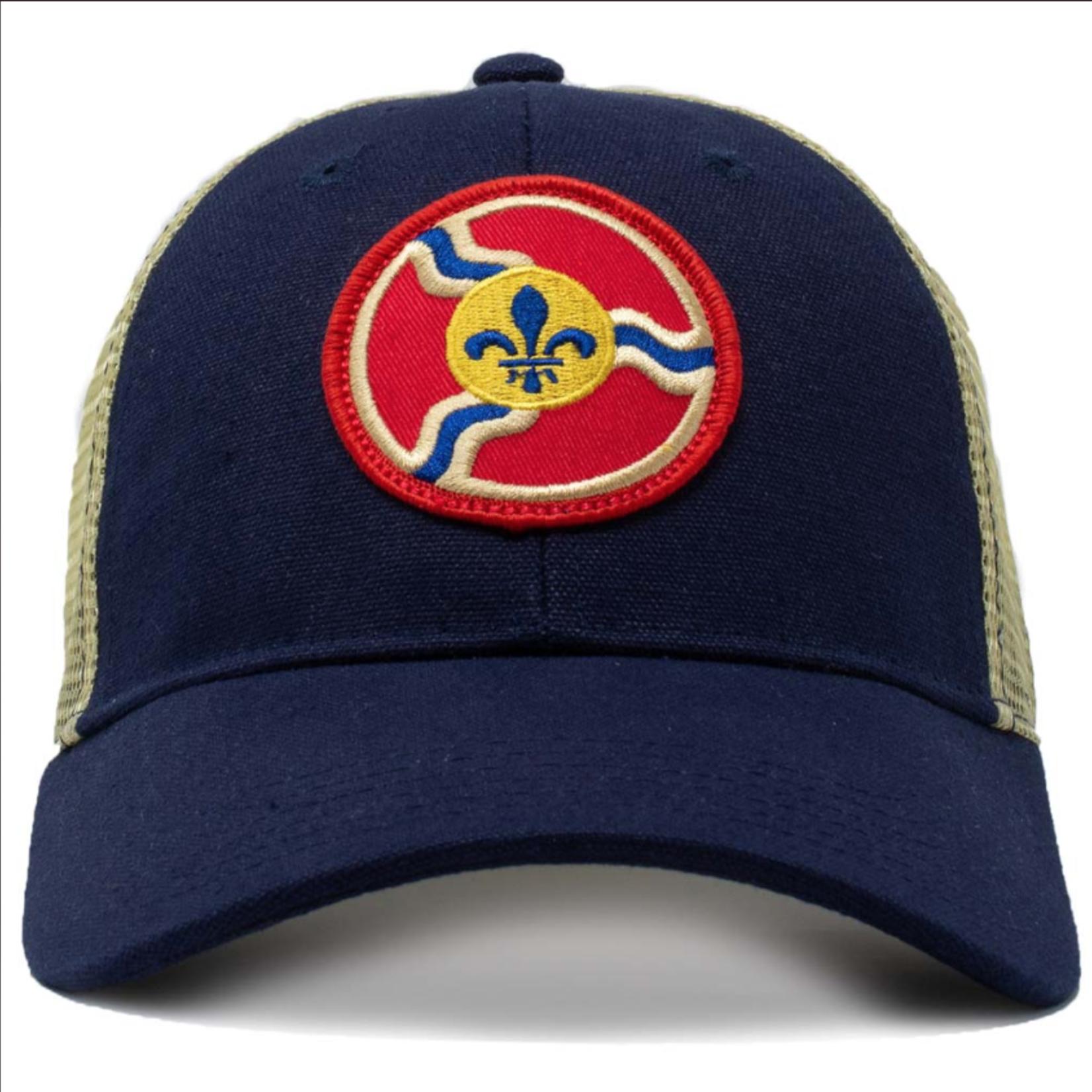 Civil Standard St. Louis Roundel Snapback-Navy-O/S