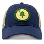 Civil Standard Maine Roundel Mesh Hat-Navy-O/S