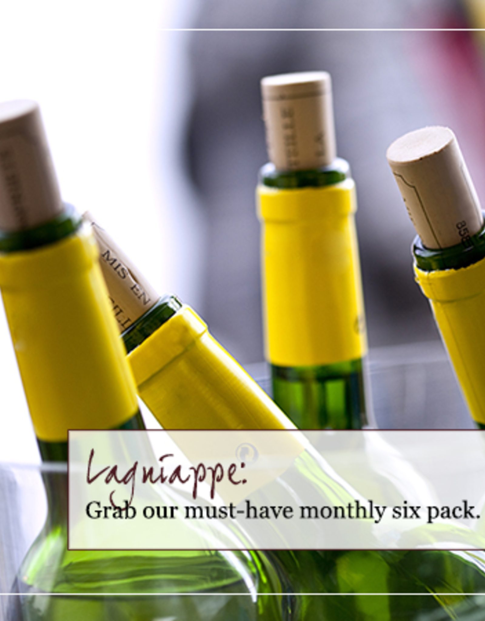 Monthly Six Pack - Our Wine Club - September 2021