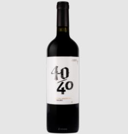"""Bernard Baudry Cuarenta/Cuarenta """"40/40"""" Red Blend 2017"""