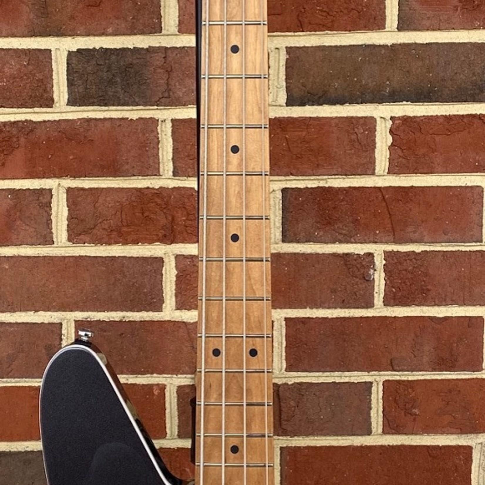 Reverend Reverend Guitars Mercalli 4 Bass, Gunmetal, 5pc Roasted Maple Neck