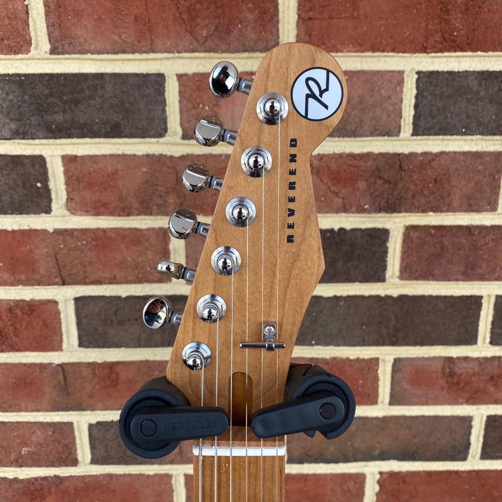 Reverend Reverend Guitars Greg Koch Gristlemaster, Blucifer, Fishman Fluence Signature Pickups, Roasted Maple Neck and Fretboard