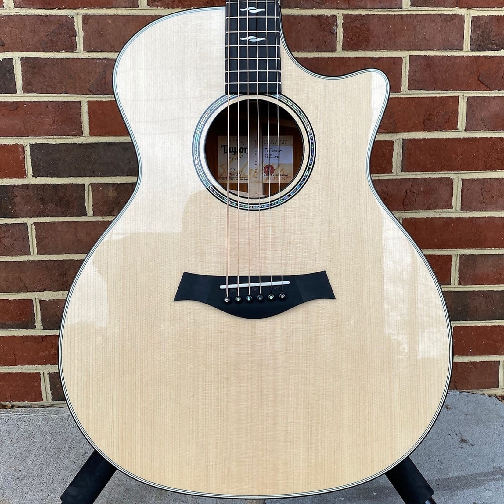 Taylor Taylor 814ce LTD, Cocobolo Back and Sides, Lutz Spruce Top, Ebony Binding, Hardshell Case