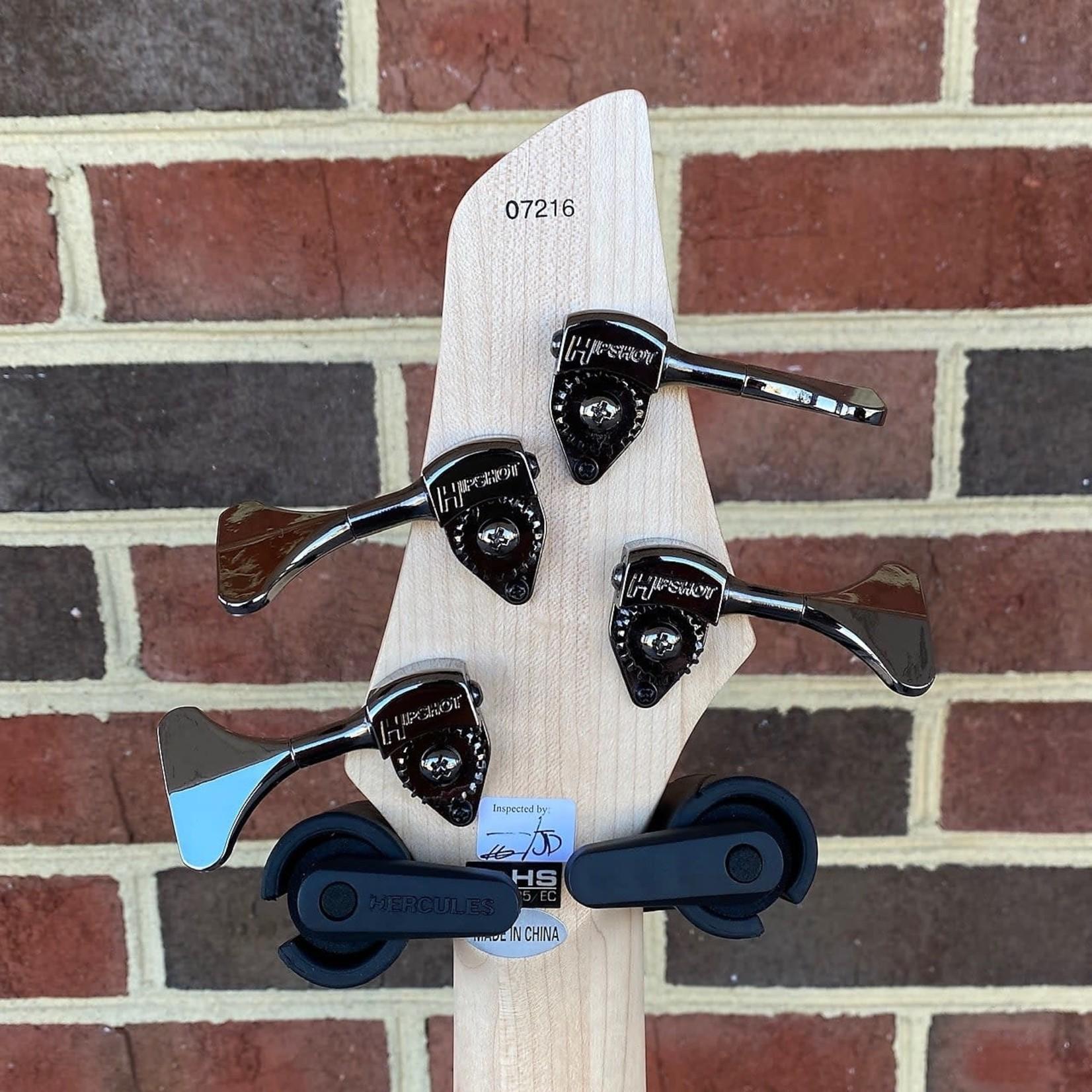 Dingwall Dingwall NG-2 4-String, Aquamarine Metal Flake, Maple Neck, Maple Fretboard, Matching Headstock, Dingwall Gig Bag, SN# 7216