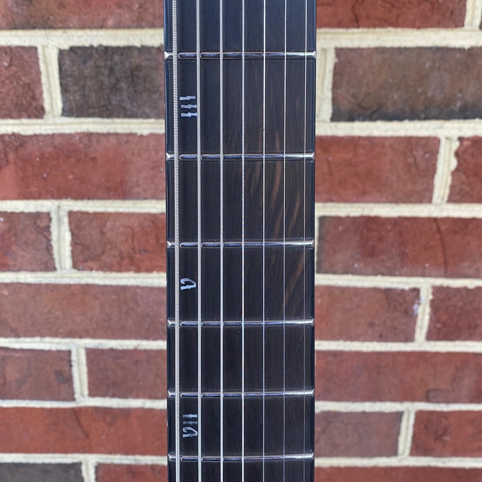 "Schecter Guitar Research Schecter Banshee Mach-7 EB, Ember Burst, 7-String, Lundgren M7 pickups, Ebony FB, Locking Tuners, 26.5"" Scale, 12""-16"" Compound Radius"