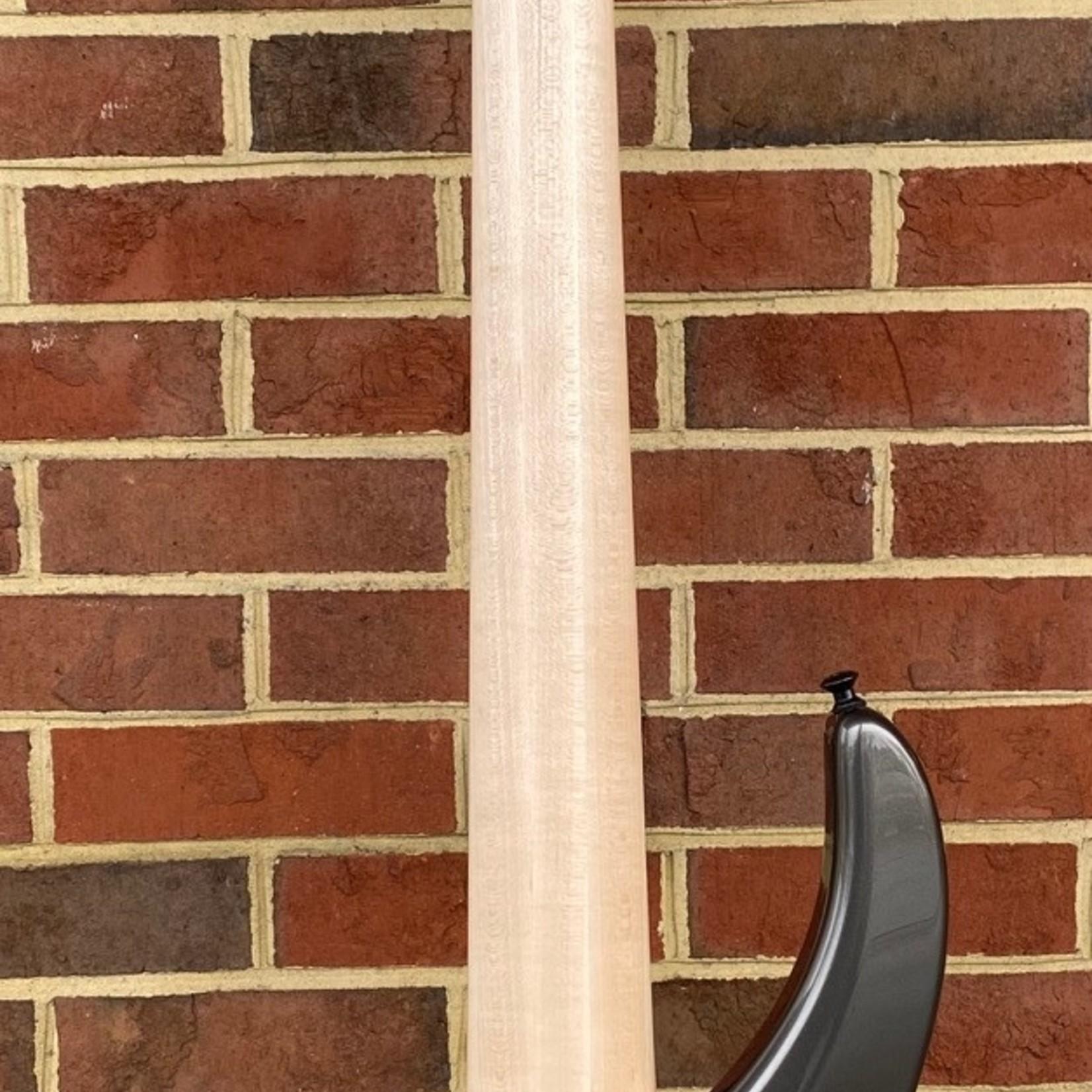 Dingwall Dingwall ABI Custom 5, Afterburner 5-String, 3x Pickups, Alder Body, Charcoal Metallic Custom Color, Maple Neck, Wenge Fretboard, Speedo Bar Inlays, Blue Luminlay Side Markers, Darkglass Tone Capsule Preamp, Dingwall Deluxe Gig Bag