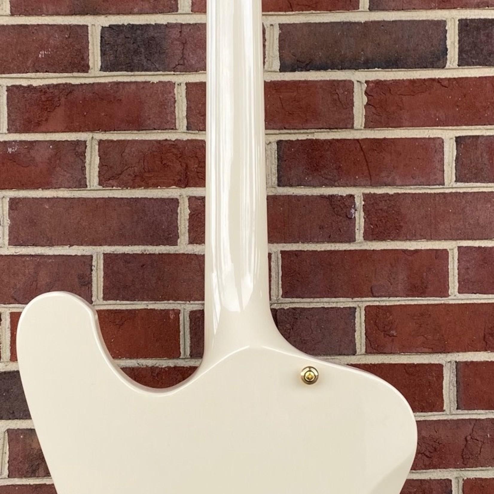 ESP ESP LTD PHOENIX1000VW, Vintage White, Seymour Duncan Custom (bridge), Seymour Duncan Phat Cat (neck), Macassar Ebony FB, Bone Nut, Gold Hardware