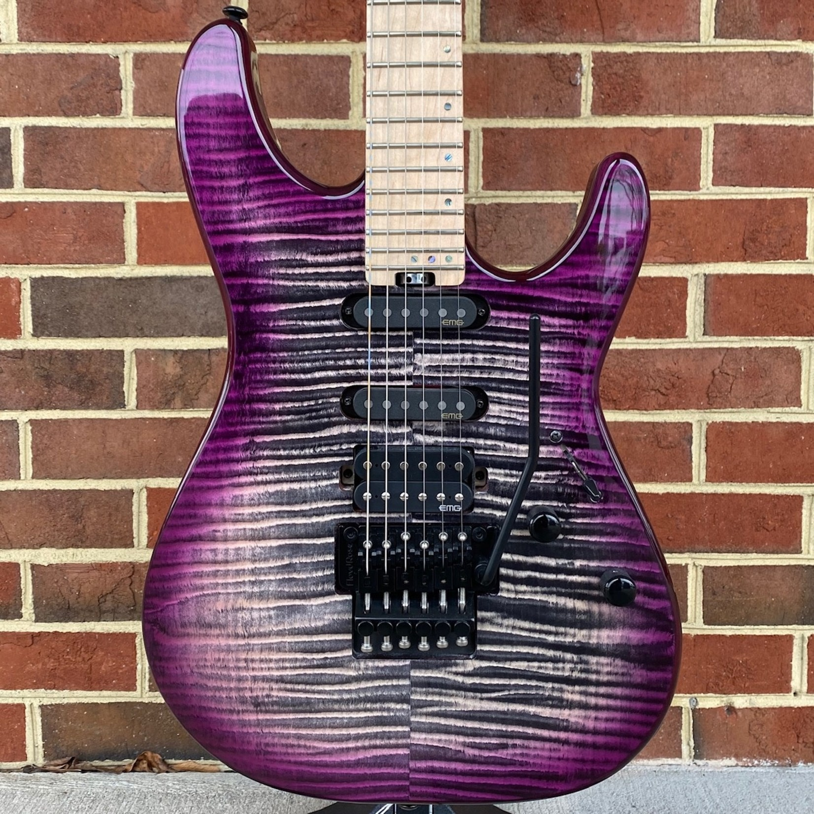 Schecter Guitar Research Schecter Sun Valley Super Shredder III, Aurora Burst, Quilted Maple Top, Floyd Rose, EMG Retro Active Pickups, Maple Fretboard, Maple Neck