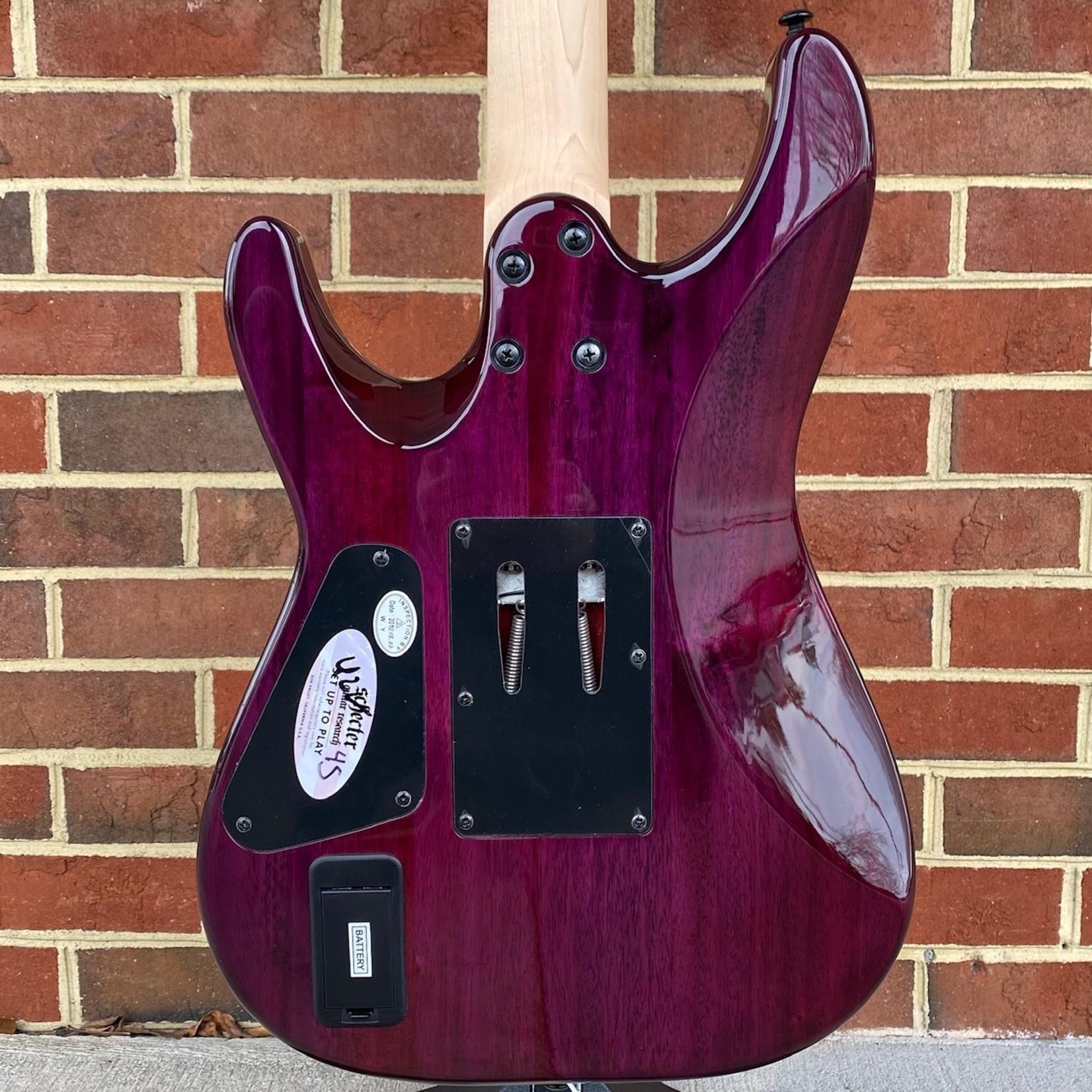 Schecter Guitar Research Schecter Sun Valley Super Shredder III, Aurora Burst, Quilted Maple Top, Floyd Rose, EMG Retro Active Pickups, Maple Fretboard, Maple Neck