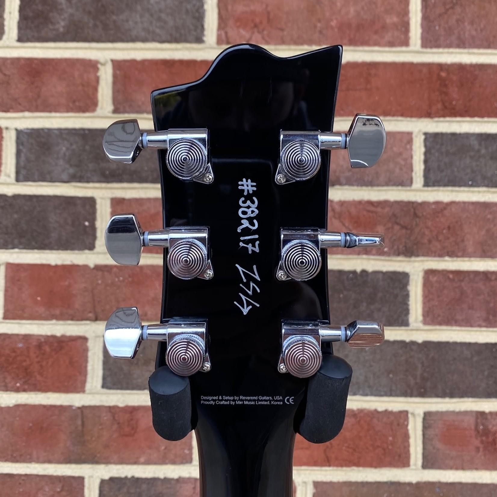 Reverend Reverend Guitars Sensei HB, Sky Burst, Flamed Maple Top, Korina Body and Neck, Pau Ferro Fretboard, Locking Tuners
