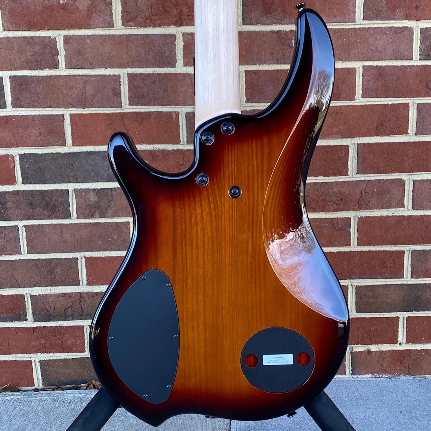 Dingwall Dingwall Combustion 4-String, 3x Pickups, Vintageburst, Quilted Maple Top, Pau Ferro Fretboard, Dingwall Gig Bag