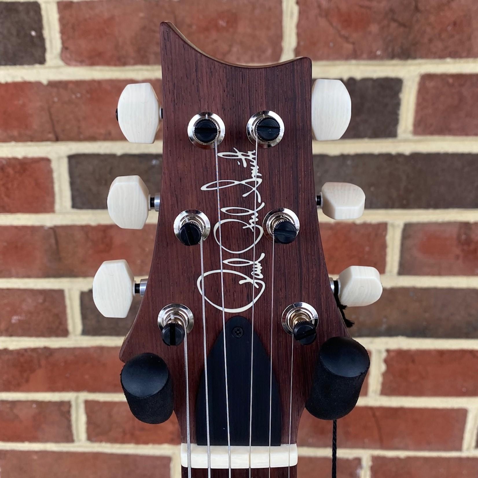 Paul Reed Smith Paul Reed Smith Paul's Guitar, Non-10 Top, Fire Red Wrap, Brushstroke Birds, Hardshell Case