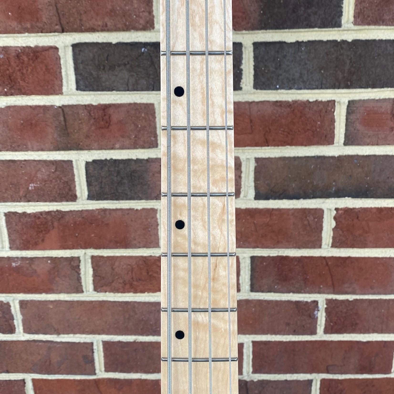 "Schecter Guitar Research Schecter J-4, Seafoam Green, Maple Fretboard, Schecter USA MonsterTone J pickups, Black Hardware, 16"" Radius"
