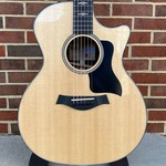 Taylor Taylor E14ce, Ebony Series, Sitka Spruce Top, West African Ebony Back and Sides, ES2 Electronics, Hardshell Case