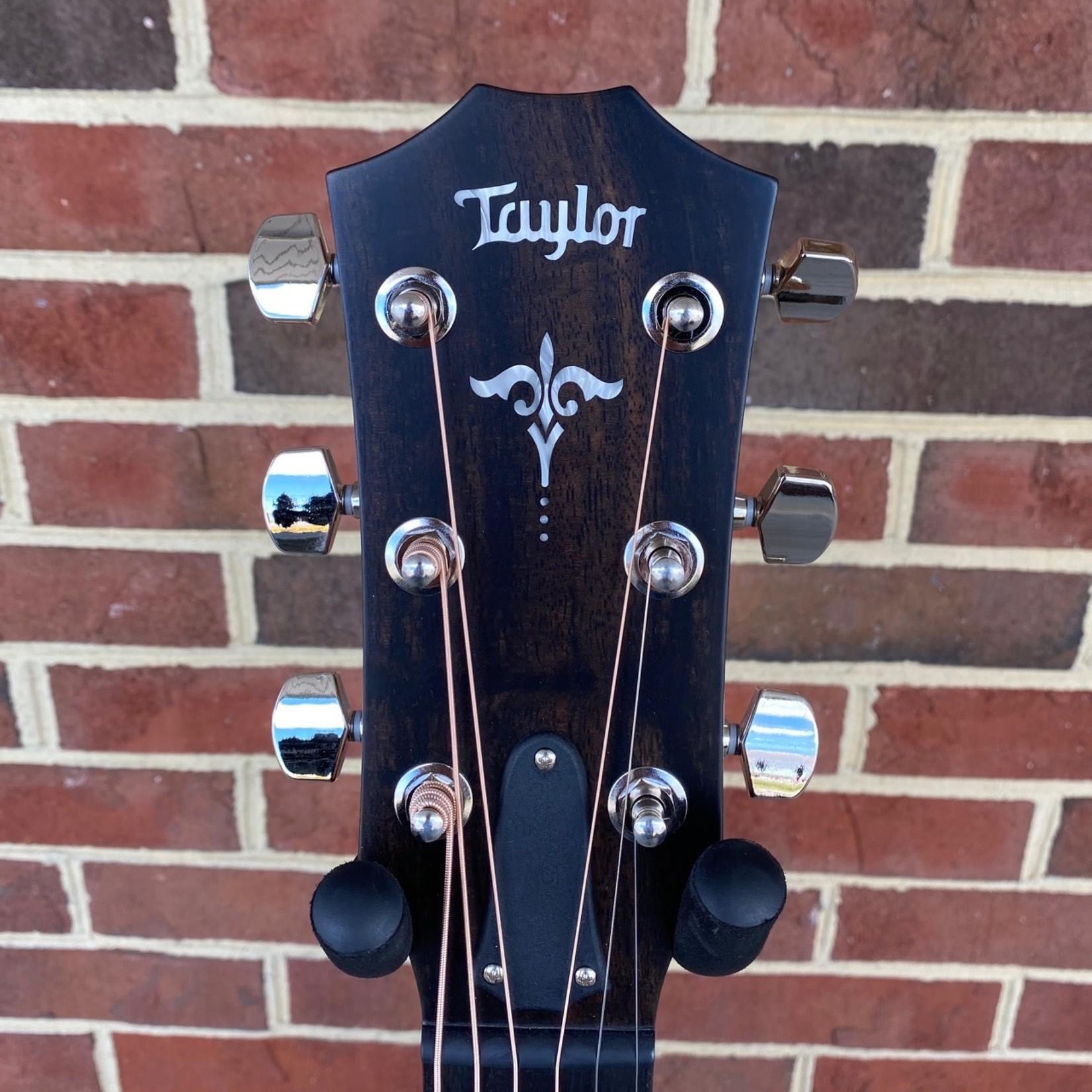 Taylor Taylor E14ce, Ebony Series, Sitka Spruce Top, West African Ebony Back and Sides, ES2 Electronics, Hardshell Case