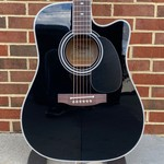 Takamine Takamine EF341SC Dreadnaught, Solid Cedar Top, Maple Back and Sides, CT4B II Electronics, Hardshell Case
