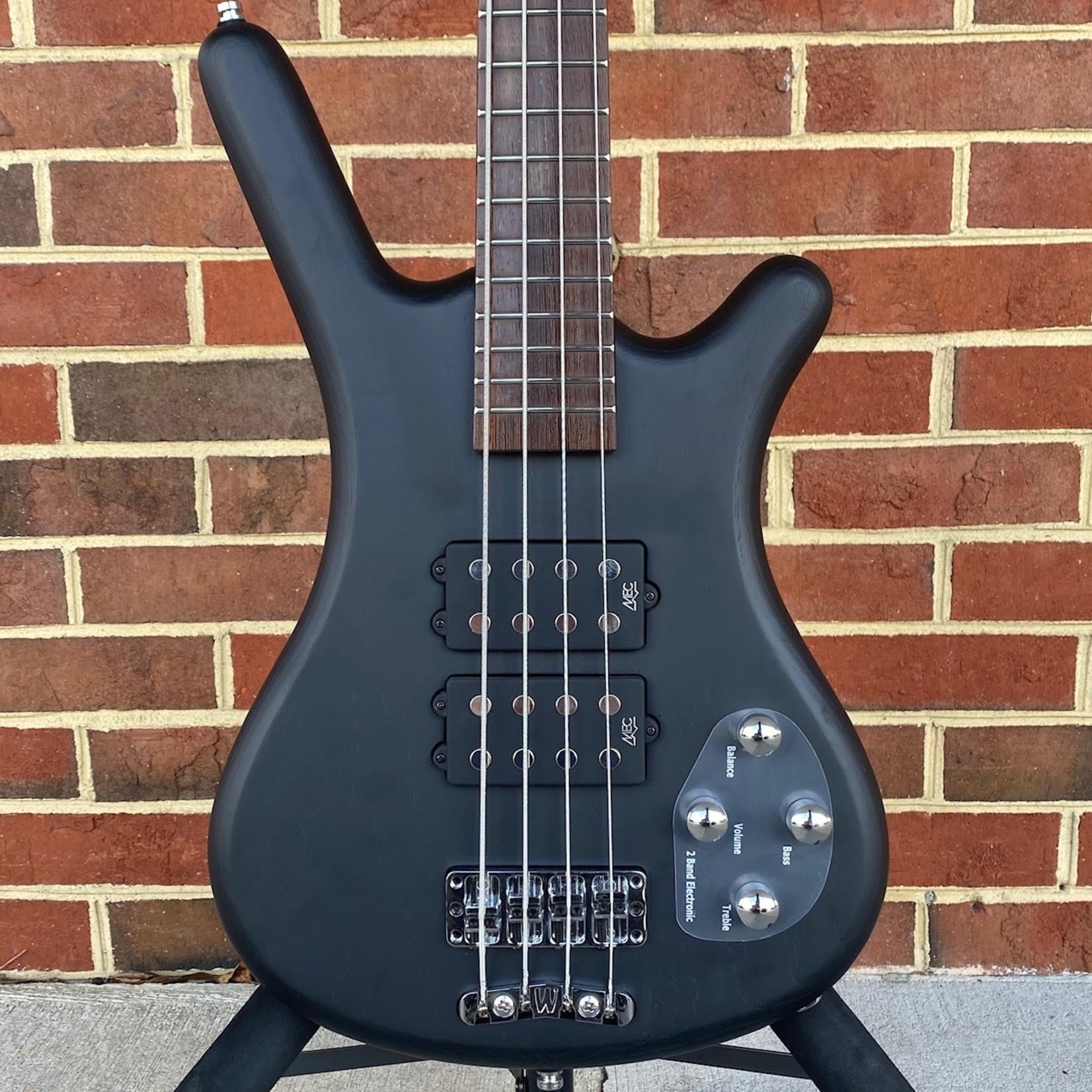 Warwick Warwick Rockbass Corvette $$, 4-String, Nirvana Black Satin, Gig Bag