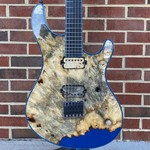 Mayones Mayones Regius 6 Master Builder Collection NAMM 2021, Master Grade Buckeye Burl + Resin, Hiscox Hardshell Case