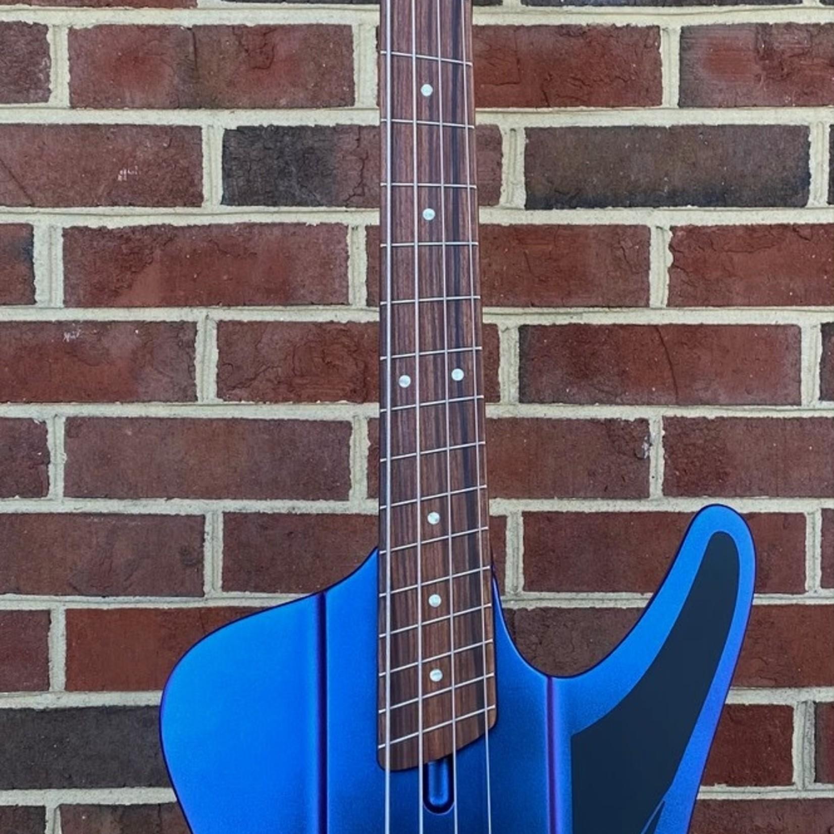 Dingwall Dingwall D-Roc Standard, Pau Ferro Fretboard, Blue to Purple Colorshift, Dingwall Gig Bag, SN# 7689