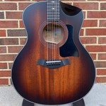 Taylor Taylor 326ce, Grand Symphony, Urban Ash Back and Sides, Mahogany Top, Shaded Edge Burst, Urban Sienna Satin, Satin Black Tuners, ES2 Electronics, Hardshell Case