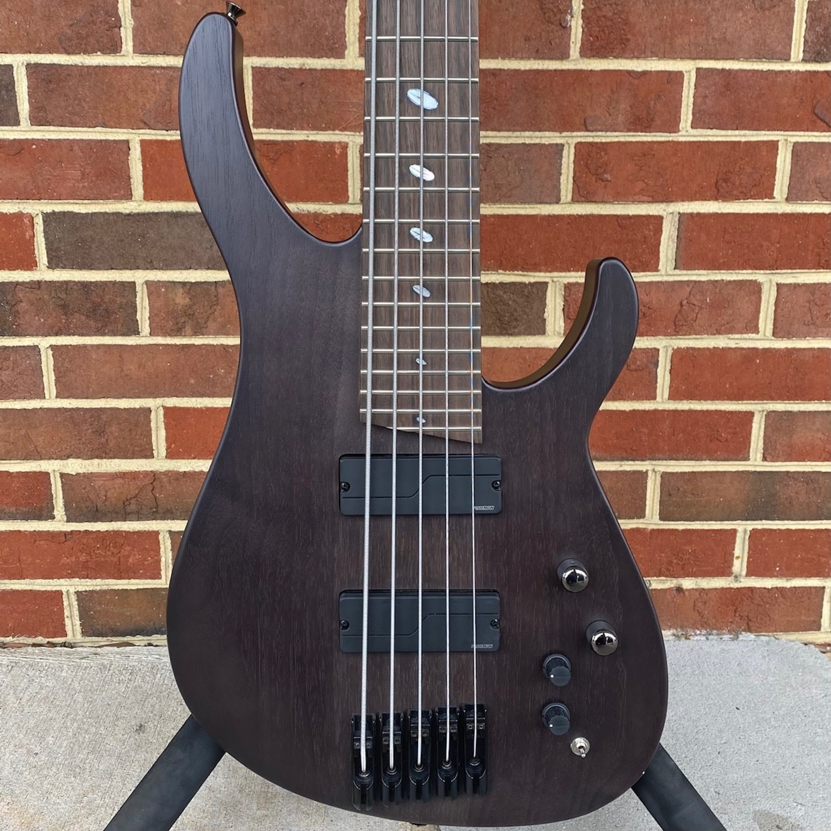 Caparison Guitars Caparison Brocken 5-BASS, Trans Black Matte