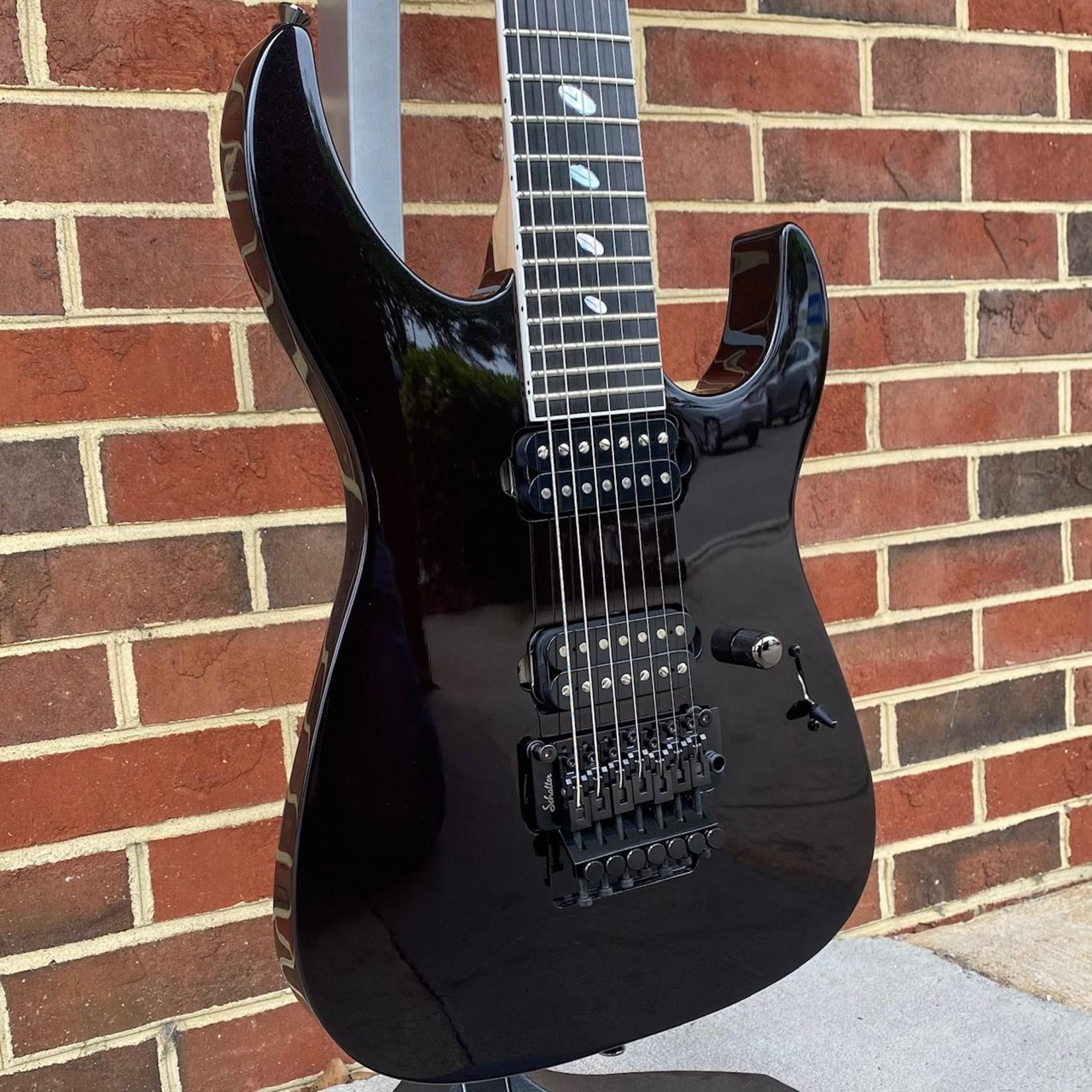 Caparison Guitars Caparison Dellinger 7 Prominence, Trans Spectrum Black, 7-String