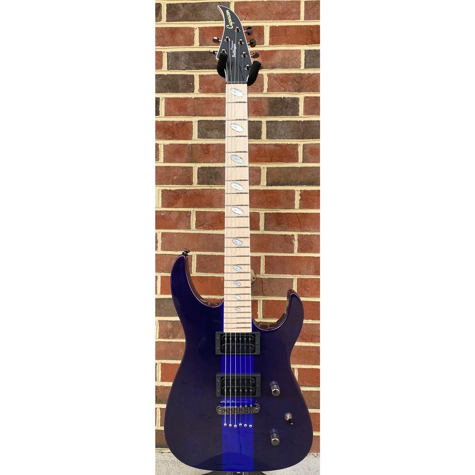 Caparison Guitars Caparison Dellinger II FX Prominence MF, Trans Spectrum Blue