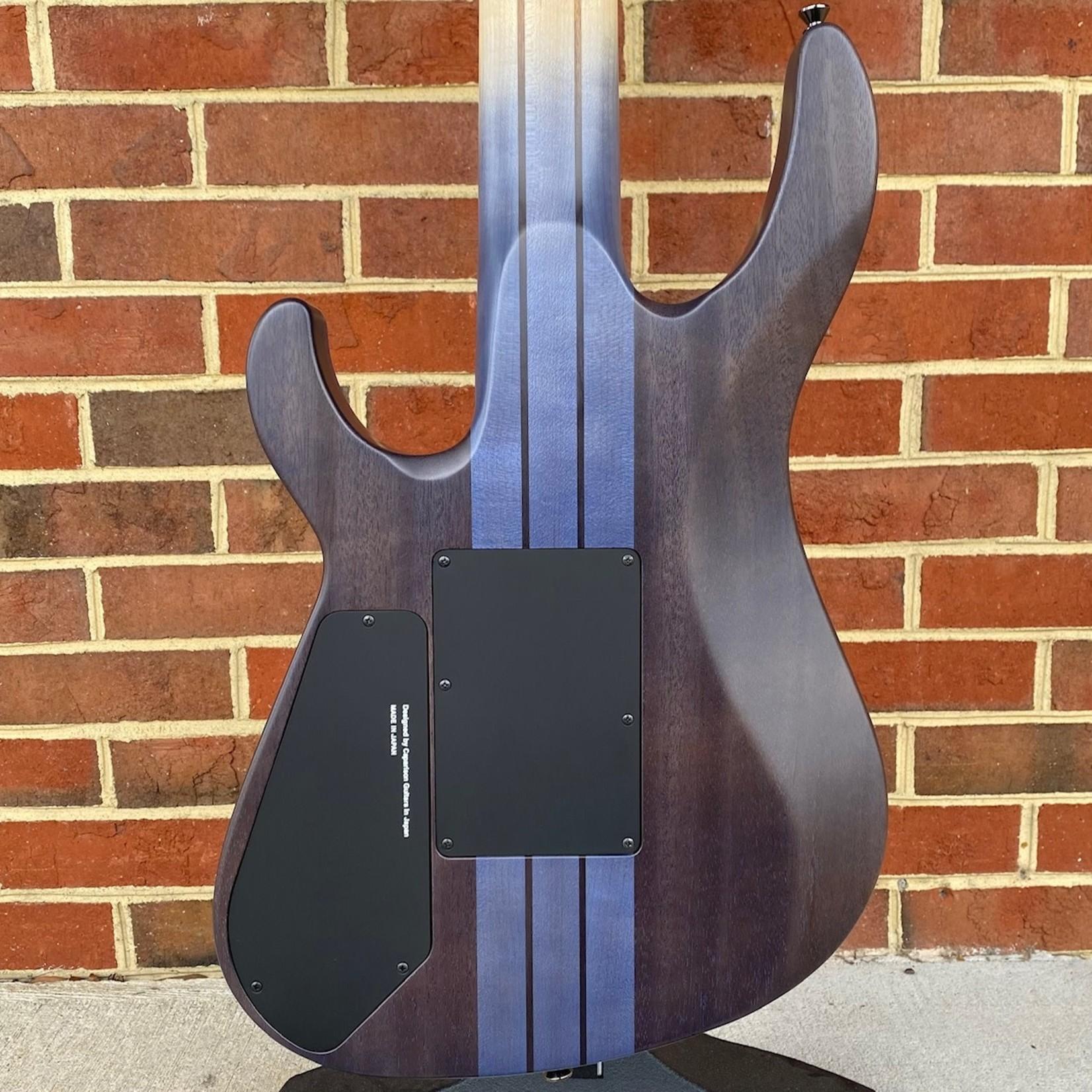 Caparison Guitars Caparison TAT Special 7 FM, Trans Blue Berry Matte 7-String