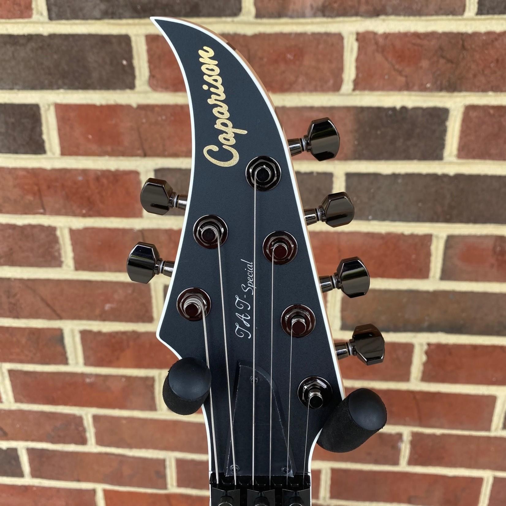 Caparison Guitars Caparison TAT Special FM, Trans Black Berry Matte