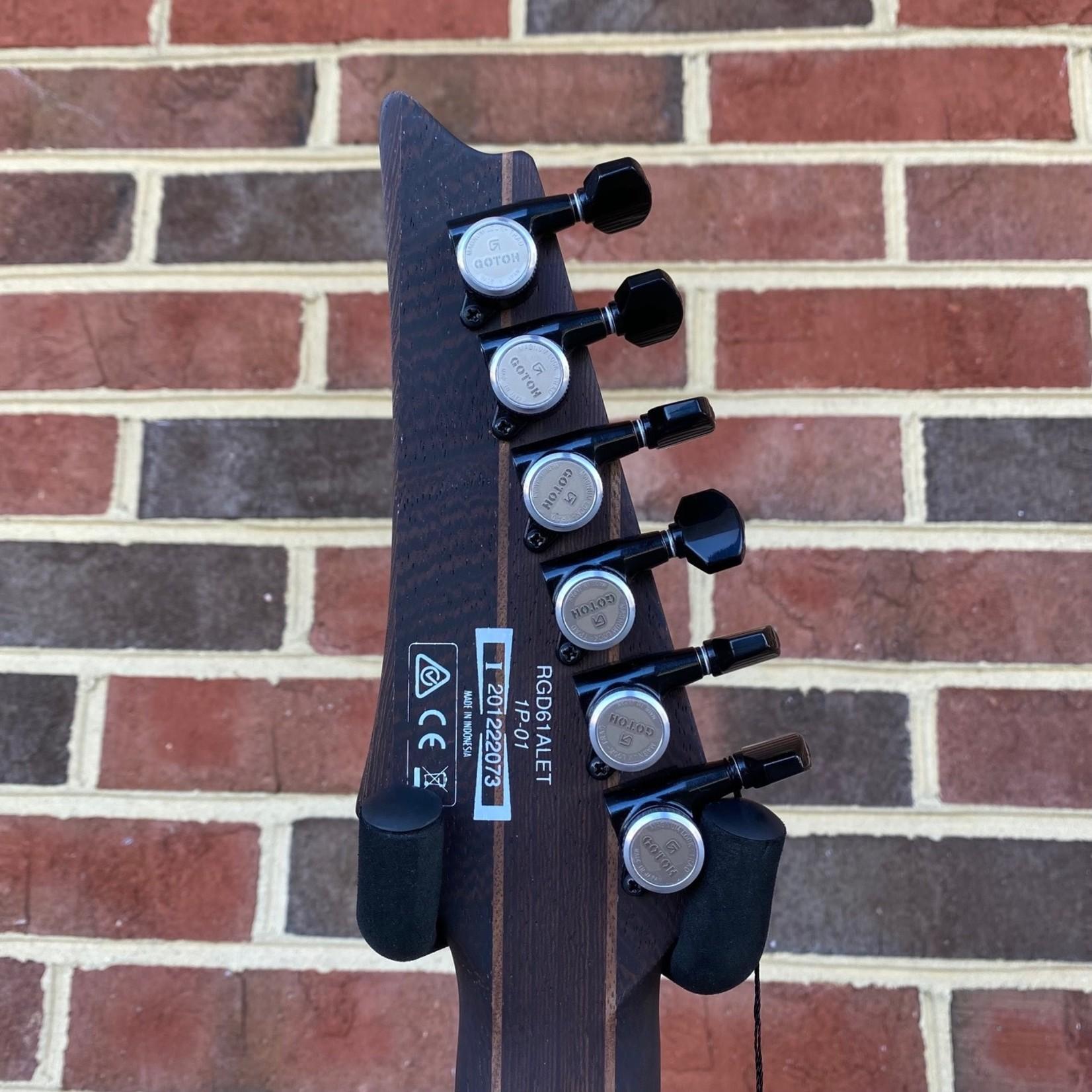 Ibanez Ibanez Axion Label RGD61ALETMGM, Metallic Gray Matte, Evertune Bridge, Fishman Fluence Modern Pickups